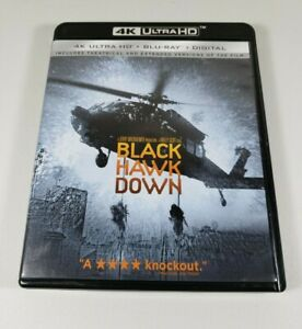 Black Hawk Down (2001) 3 Disc 4K UHD + Blu-Ray Theatrical & Extended Versions