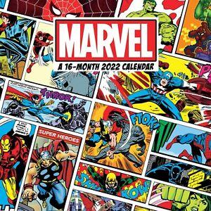 MARVEL COMICS - 2022 WALL CALENDAR - BRAND NEW - 225073