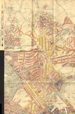 Booth Mappa la povertà. ST John'S WOOD Hampstead MAIDA VALE Belsize Park Kilburn 1902