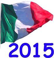 ITALIA Repubblica 2015 Annata Completa Singoli Integri MNH ** Perfetti