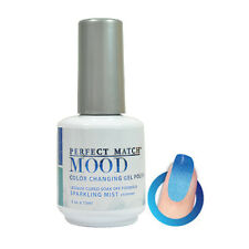 MPMG26 -Sparkling Mist LeChat Perfect Match MOOD Color Changing Gel Polish 0.5oz