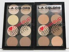 LA COLORS I Heart Makeup Contour Palette MEDIUM DEEP Or LIGHT MEDIUM