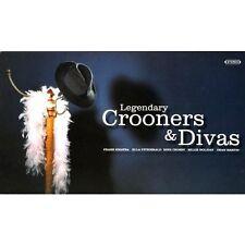 Legendary Crooners & Divas ~  NEW SEALED 4CD SET 80 VINTAGE EASY LISTENING HITS