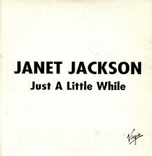 CD SINGLE promo JANET JACKSON Just a little while SPANISH 2004