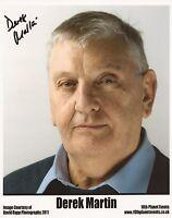 Derek Martin eastenders signed photo UACC RD 86