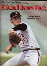 1974,Sporting News Baseball Record Book,magazine,Nolan Ryan,California Angels