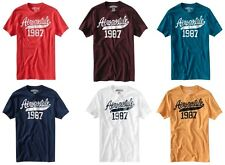 LOT OF 10 AEROPOSTALE MENS EMBROIDERED T-SHIRTS YOU CHOOSE THE SIZES NWT