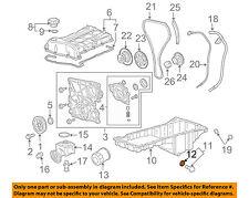 GM OEM Engine Oil Pan-Drain Plug Gasket 3536966
