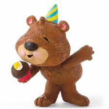 Hallmark Birthday Bear Merry Miniatures Figurine