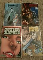 DOKTOR SLEEPLESS MANUAL (2008 Series) #1  SET OF 4 COVERS WARREN ELLIS