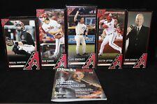 2010 Arizona Diamondbacks Bobbleheads Complete Set 5 AZ Dbacks Baseball Gonzalez