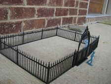 Marx Wrought Iron Fence Gate 1/32 54MM Boothill Cemetery Toy Soldier