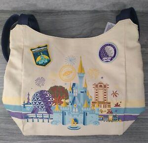 Walt Disney World Parks Discover the Magic Canvas Tote Purse Shoulder Bag w/Tags