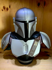 More details for star wars - the mandalorian 1/2 scale bust - gentle giant / diamond select mint