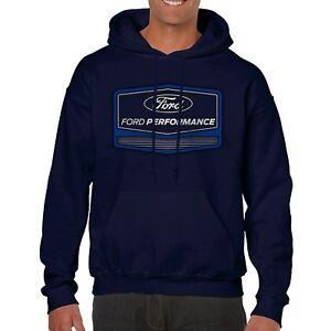 Ford Performance Navy Blue Hooded Sweatshirt Adult XXL Hoodie