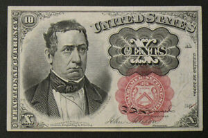 Series of 1874 10 CENT US Fractional Currency 5th Issue - Circulated FR-1265