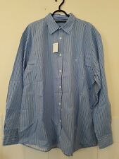 Urban Outfitters Blue Striped Shirt M