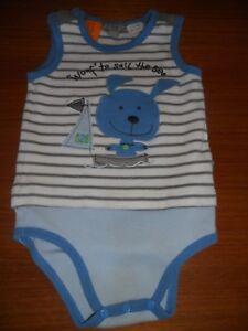 Baby boys Pumpkin Patch  stripe bodysuit  Size 24mths