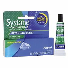 5 Pack - Systane Nighttime Lubricant Eye Ointment 3.50G Each