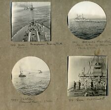 DVD Scans of Royal Navy officers photo album 1901-09 HMS Victorious & HMS Queen