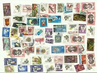 South Africa postage stamps x 70, off paper, used (Batch 4)