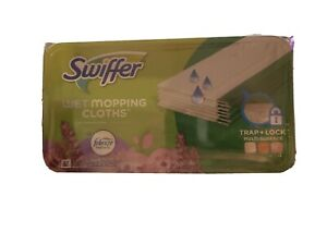 Swiffer Sweeper Wet Pad Refills, Lavender Scent, 24 ct NEW & UNOPENED