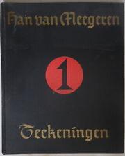 Han van Meegeren - Teekeningen 1 - H. de Boer - Jan Feith - L.J.C. Boucher 1942