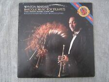 WYNTON MARSALIS ~ BAROQUE MUSIC FOR TRUMPETS  VINYL RECORD LP / TRUE VIRTUOSO