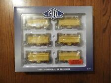 Model Trains Victorian Railways VR Auscision Models GH Grain Wagons. Boxed.
