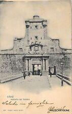 SPAIN - Cadiz - Puerta de Tierra