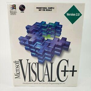 Microsoft Visual C++ Version 2.0 Windows Programming System + Tools NEW SEALED