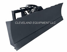 "NEW 72"" 6-WAY DOZER BLADE ATTACHMENT Skid-Steer Loader Hydraulic Angle Tilt 6'"
