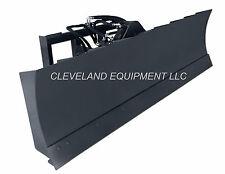 "New 84"" 6-Way Dozer Blade Attachment Skid-Steer Track Loader Bobcat Caterpillar"