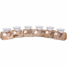 Nautical Wooden Tabletop Candle & Tea Light Holders