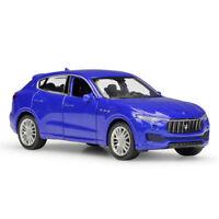 1:43 Maserati Levante SUV Die Cast Modellauto Spielzeug Model Sammlung Blau