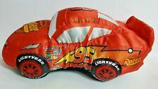 "Disney Pixar Cars 15"" Lightning McQueen Plush Stuffed Car Doll"