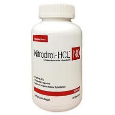 Stacker 2 Nitrodrol-HCL NO L-Arginine Norvaline+Beta Alanine 180 Capsules 10/19