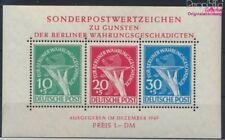 Berlin (West) Block1 (kompl.Ausg.) mit Falz 1949 Währungsgeschädigte (9272450