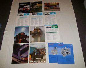 Lot of International Harvester Truck Brochure Fleetstar Loadstar Truck Specs