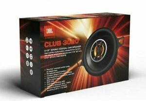 """JBL Club 3020 120 Watts Max 3-1/2"""" Club Series 2-Way Coaxial Car Speakers NEW"""
