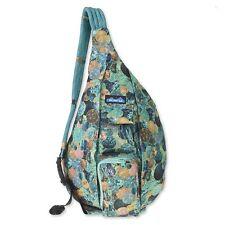 KAVU Rope Sling Bag Polyester Crossbody Shoulder Hiking Backpack - Sea Glitter