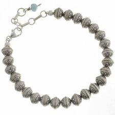 Navajo Desert Pearl Bracelet With Turquoise Drop