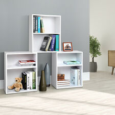 3 Piece 7 Combination Storage Shelf Set Bookshelf Display 5 Adjustable Heights