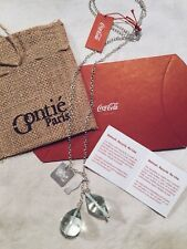 Gontie Paris Coca-Cola Limited Edition Necklace made from recycled Coke Bottles