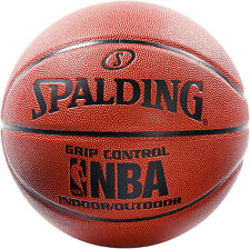 Spalding Nba Grip Control Indoor Outdoor Basketball Size 7 Composite Leather