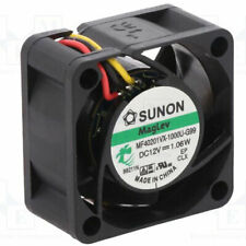 Sunon MagLev MF40201VX-1000U-G99 40mm x 40mm x 20mm 12v cooler fan 3 pin 3 wire