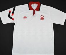 1992-1993 NOTTINGHAM FOREST UMBRO AWAY FOOTBALL SHIRT (SIZE L)