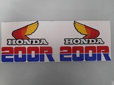 NEW HONDA XR 200R XR200R XR200 R XR 200 R FUEL GAS TANK GRAPHICS DECALS STICKERS