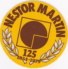 VINTAGE STICKER 125 JAAR NESTOR MARTIN 1979
