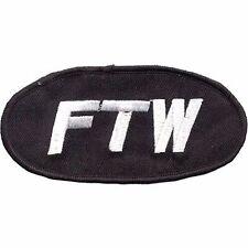 "Motorcycle Club Sergeant FTW"" Biker Patch 2.5"" x 4.5"" #PAT-E735"